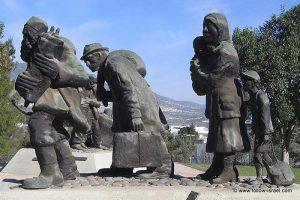 Karmiel,Monumentul Supravietuitorilor  Holocaustului- Niki Imber