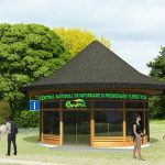 Centru informare turistica macheta